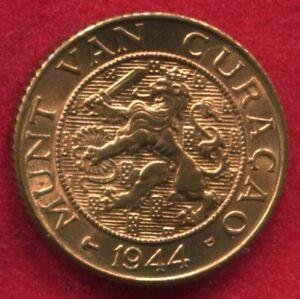 Curacao - 1944 D Cent KM#41 Nearer Type in BU