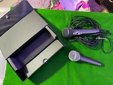 More details for 2 microphones, 1 philips dynamic mic, with fixed cable, 1 unbranded mic (yu 37)