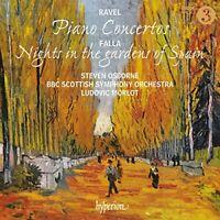 Steven Osbourne - Ravel:Piano Concertos; Falla:Nights In The Gardens Of