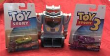 Disney Toy Story 3 Sparks Turbo Launcher & Hot Wheels Stretch And Rex Cars