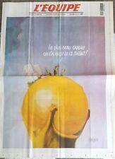 """L'Equipe Journal 25/12/1998; Couverture Chenez """"coupe du monde"""""""