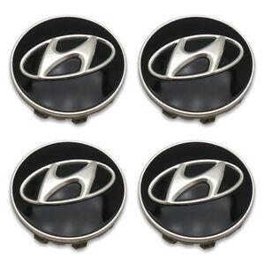 SET OF 4- FREE SHIPPING 09-12 Hyundai Genesis Wheel Center Caps Hubcaps