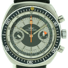 Dugena vintage chronograph military style funcionan Valjoux 7733 extremadamente rara