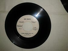 "Joe South / Games People Play–Disco Vinile 45 Giri 7"" Edizione Promo Juke Box"