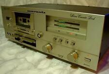 Schönes Marantz SD 3000 Tapedeck Stereo Cassette Deck in champagner