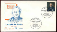 Berlin 1970 Leopold Von Ranke FDC First Day Cover #C34320