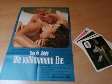 Die vollkommene Ehe - Van de Velde , Kinoplakat + 20 AHF , Top Zustand