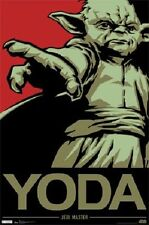YODA Poster - Star Wars Art Full Size 24x36 Print ~ Yoda The Jedi Master Force