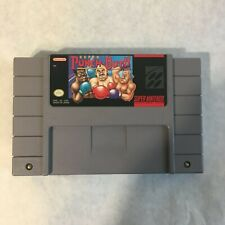 SNES Super Nintendo SUPER PUNCH-OUT!! Video Game Cartridge