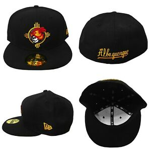 NWT New Era Albuquerque Dukes Isotopes Zia MiLB 59Fifty Fitted Hat 7 1/4