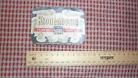 1950s FRENCH BEER LABEL, BRASSERIE DE KRONENBOURG STRASBOURG FRANCE LAGER BEER 1