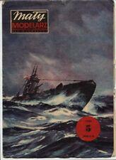 1:100 British WWII U-class submarine P-52   paper model