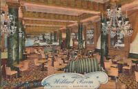 Postcard Willard Room Hotel Washington DC