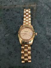 Orologio Altanus Geneve, Swiss Made, da donna, a quarzo, placcato oro, vintage.-