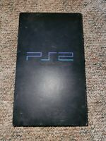 Sony PlayStation 2 PS2 Fat Black Console For Parts or Repair as is Scph-30001