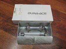 NOS VINTAGE SHIMANO DURA ACE HB-7700 32H 100x9mSPEED FRONT HUB &  SKEWER