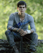 Dylan O'Brien signed authentic 8x10 photo COA
