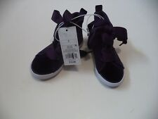 Girls Purple/Jory Athletic Shoes Size 7 With Side Zipper