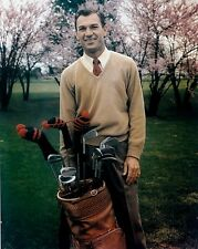 BEN HOGAN GOLFING GREAT PORTRAIT 8x10 COLOR GLOSSY