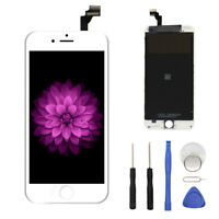 White LCD Display+Touch Screen Digitizer Frame Assembly Replacement for iPhone 6