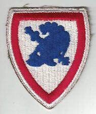 WWII Era Original USMA Staff United States Military Academy SSI Patch Cut Edge