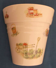 Aynsley EDWARDIAN potager Chine Plante Pot Wall Pocket made in England