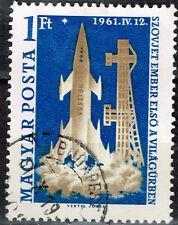 Hungary Soviet Space Gagarin stamp 1961
