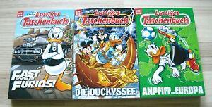 Walt Disney Lustige Taschenbücher Sammlung neu + ungelesen LTB 544, 545 + 546