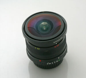 Minolta MD Rokkor-X Fish-Eye 7.5mm F4 Lens RARE
