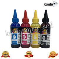 Koala 4x100ml Refill Sublimation Ink All Epson Inkjet Printer Workforce Ecotank