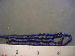 String of small  ancient Roman  Lapis Lazuli beads circa 200-400 AD.