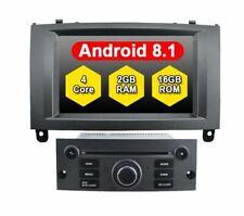 "AUTORADIO 7""Android 8.1 Peugeot 407 (2004-2010) 2gb/16gb Navigatore Usb wifi GPS"