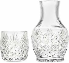 New listing Godinger Shannon Night Water Carafe with Tumbler Glass - The Carafe Holds 16.