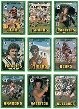 1978 Scanlens Trading Cards