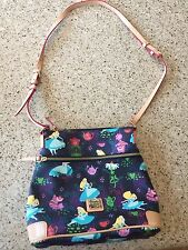 Disney Parks Alice In Wonderland Tea Time Crossbody Bag By Dooney And Bourke