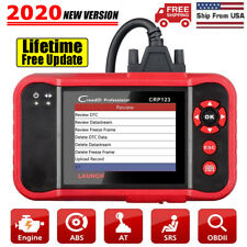 CRP123 Code Reader OBD2 Scanner ABS SRS Engine Transmission Diagnostic Scan Tool