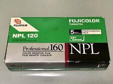 FUJIFILM Fujicolor | NPL 120 | Pro 160 ISO | 5 ROLLS  | Expired Film