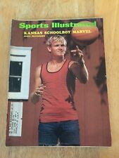 Sports Illustrated Kansas Schoolboy Marvel Mike Peterson On Cover August 9 1971