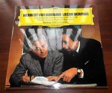 H Karajan &  L Berman Tschaikowsky Piano Concerto #1 B flat minor Grammophone NM