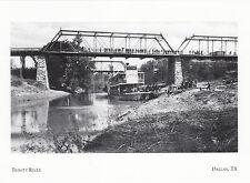 (19235) Postcard Dallas TX Trinity River (modern card)