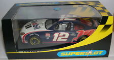 SUPERSLOT NASCAR H2348 FORD TAURUS MOBIL 1 #12   SCALEXTRIC UK  MB