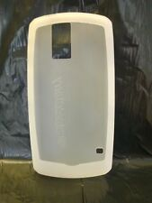WHITE SILICON SKIN COVER CASE FOR BLACKBERRY PEARL 8100