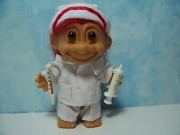 "NURSE w/HYPO & THERMOMETER - 5"" Russ Troll Doll - NEW IN ORIGINAL WRAPPER - Rare"