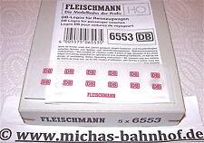 DB Logos für Reisezugwagen Fleischmann 6553 NEU 1:87 HV5  µ  *
