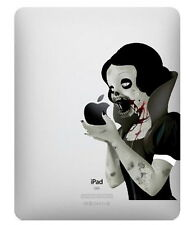 SNOW WHITE ZOMBIE Vinyl Sticker Decal for Apple iPad