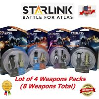 Starlink Battle For Atlas (8) Weapons DLC Packs Brand New With Free Shipping!