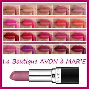 Red To Lips Mat Perfectly Lipstick Avon True : Finish Matte Absolute