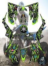 Yamaha Raptor 350 2004-2014 full graphics kit sticker decals