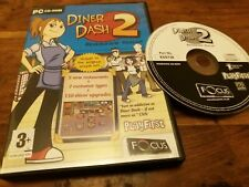 Diner Dash 2 II - UK PC CD Rom Mint Condition Two
