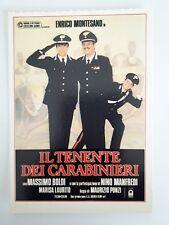 Collezione Cinema Ciak Mini Locandina Film Il Tenente dei Carabinieri